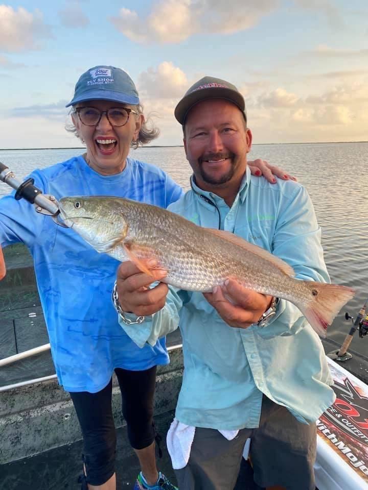 Fishing for Redfish in Corpus Christi Tx