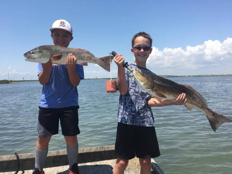 Guided Rockport fishing trips