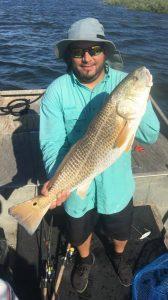 Bay fishing in Port Aransas Texas