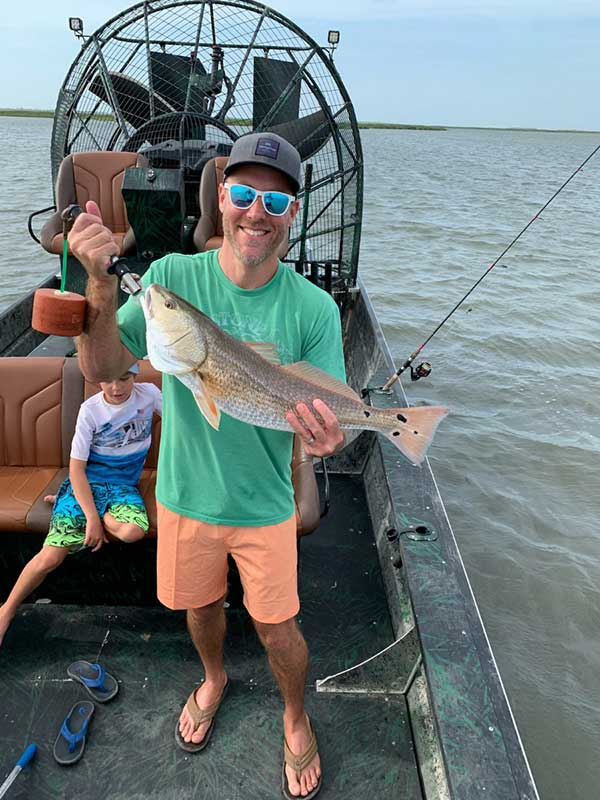 Guided Rockport Airboat Fishing Trips